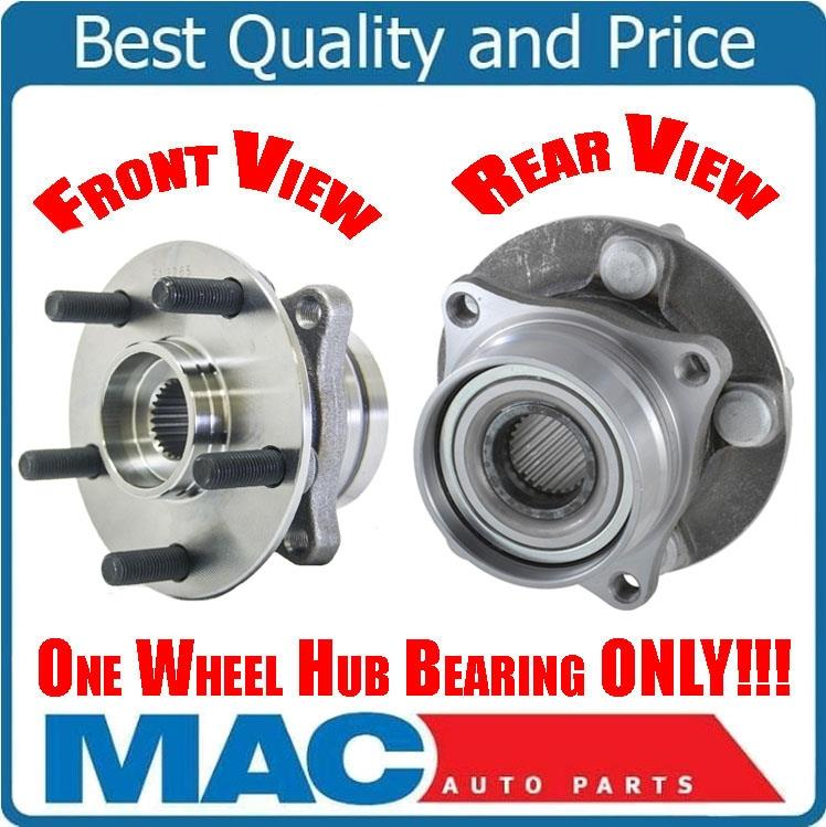 TUCAREST 513265 x2 5-Stud Hub Pair Front Wheel Bearing and Hub Assembly Compatible With 2004 2005 2006 2007 2008 2009 Toyota Prius