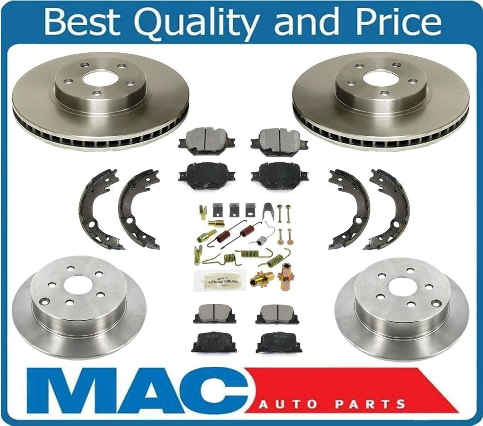 2005 2010 Scion Tc Front Amp Rear Premium Brake Disc Rotors