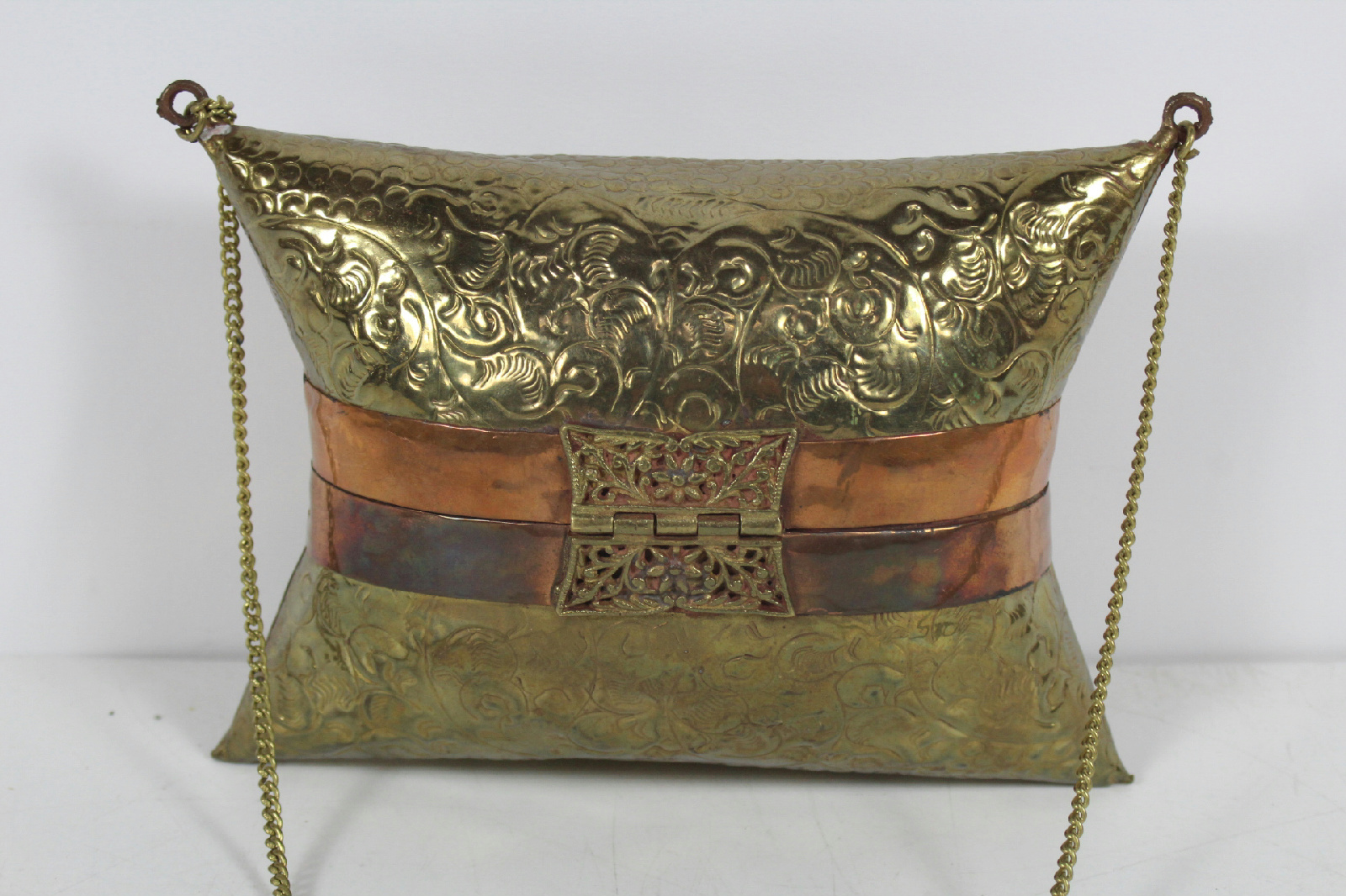 vintage brass purse complete prefer