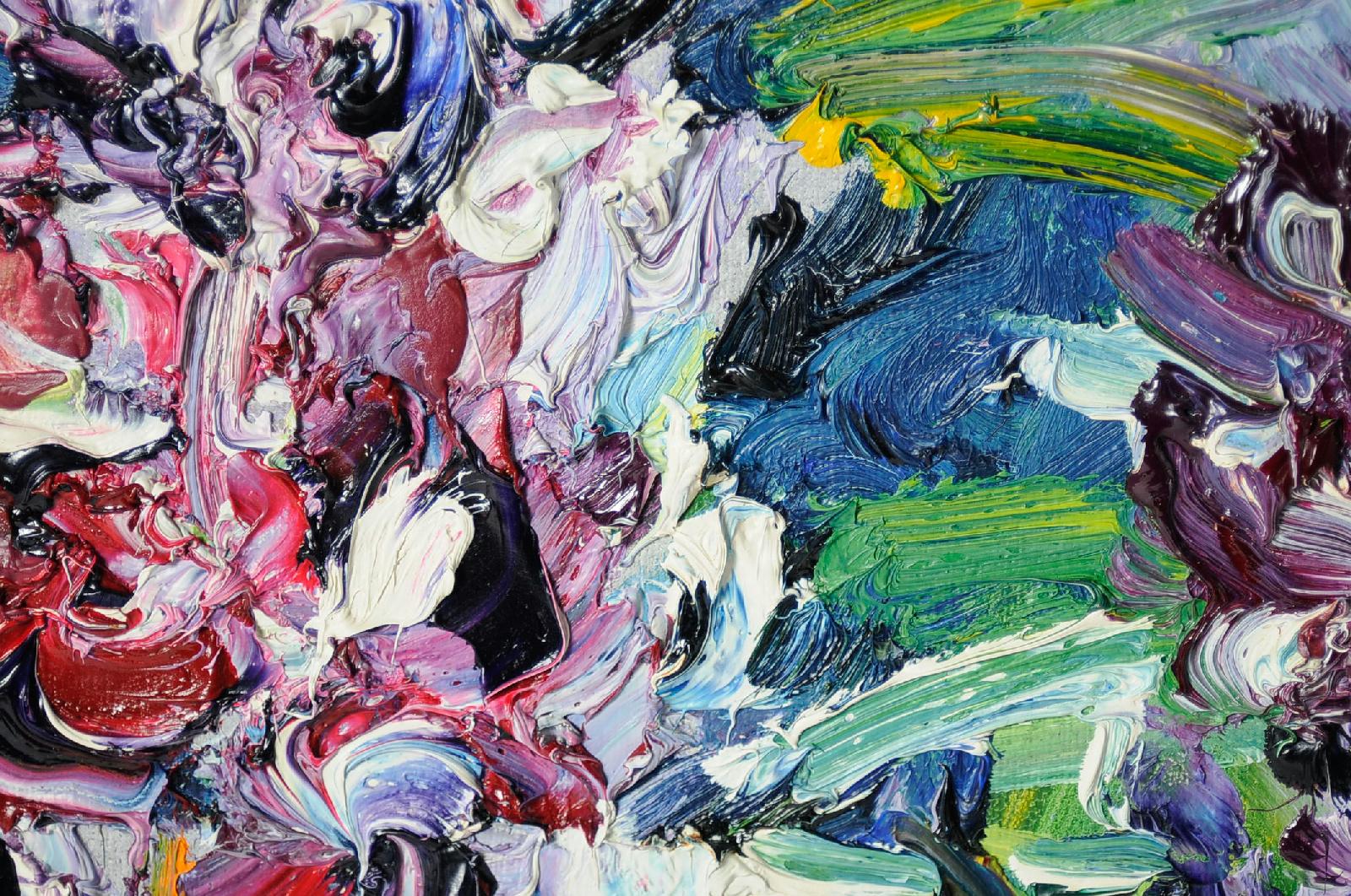 Vintage Modern Thomas Rolwacher Neo-expressionism Canvas
