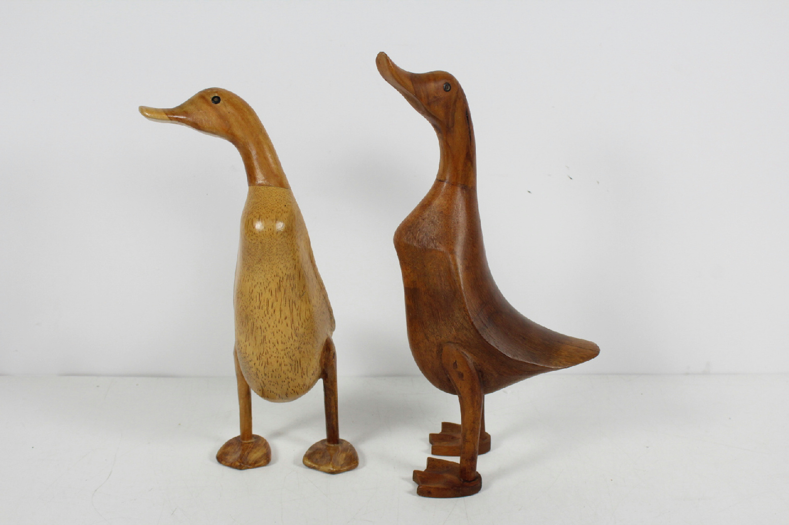Dcuk brand carved decorative wooden duck figurine