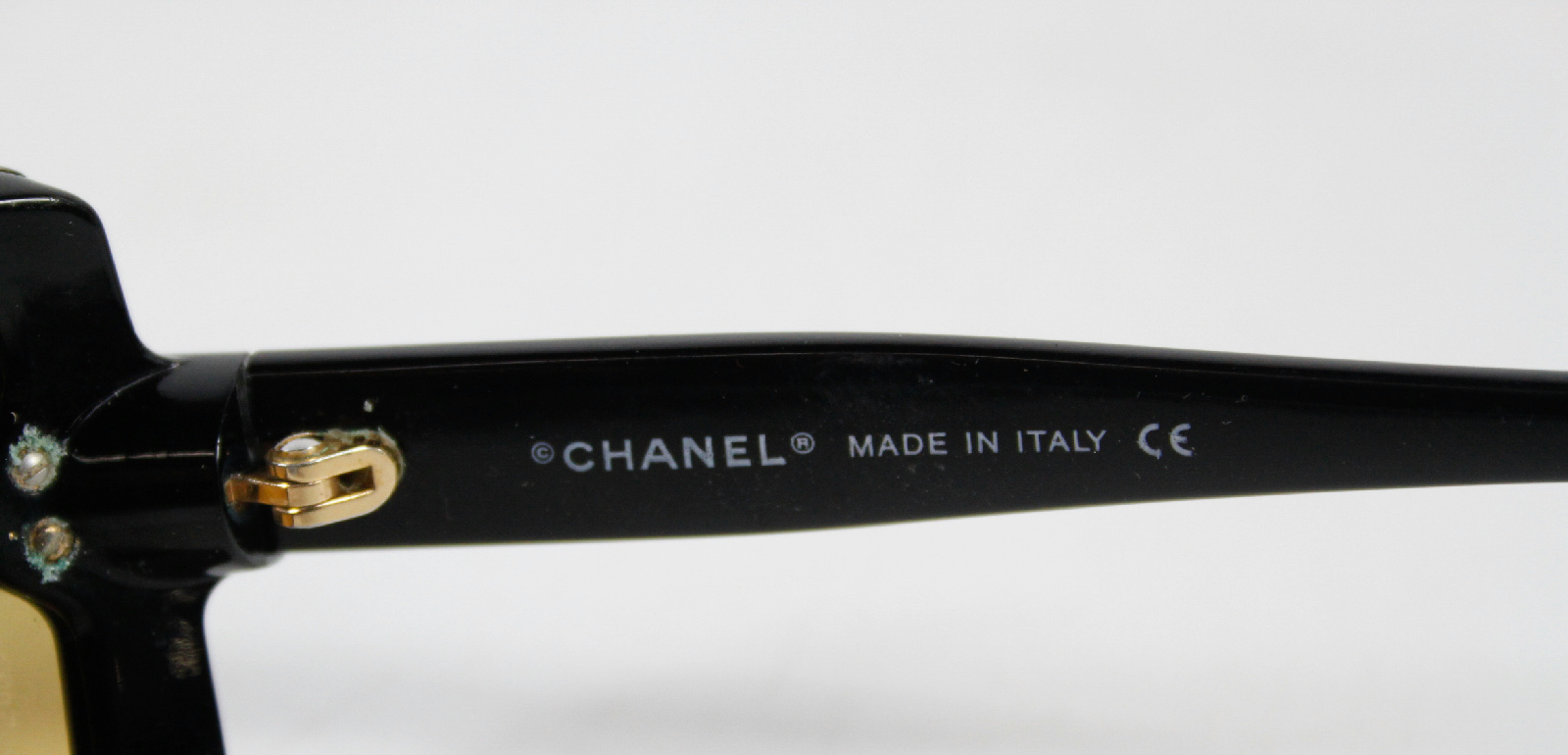 Chanel Brown Rectangular Frame Brown Tint Sunglasses eBay