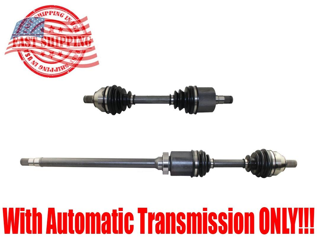 New Front L Amp R Axles For Volvo C30 C70 08 12 S40 04 11 V50 05 011 A T Only Ebay