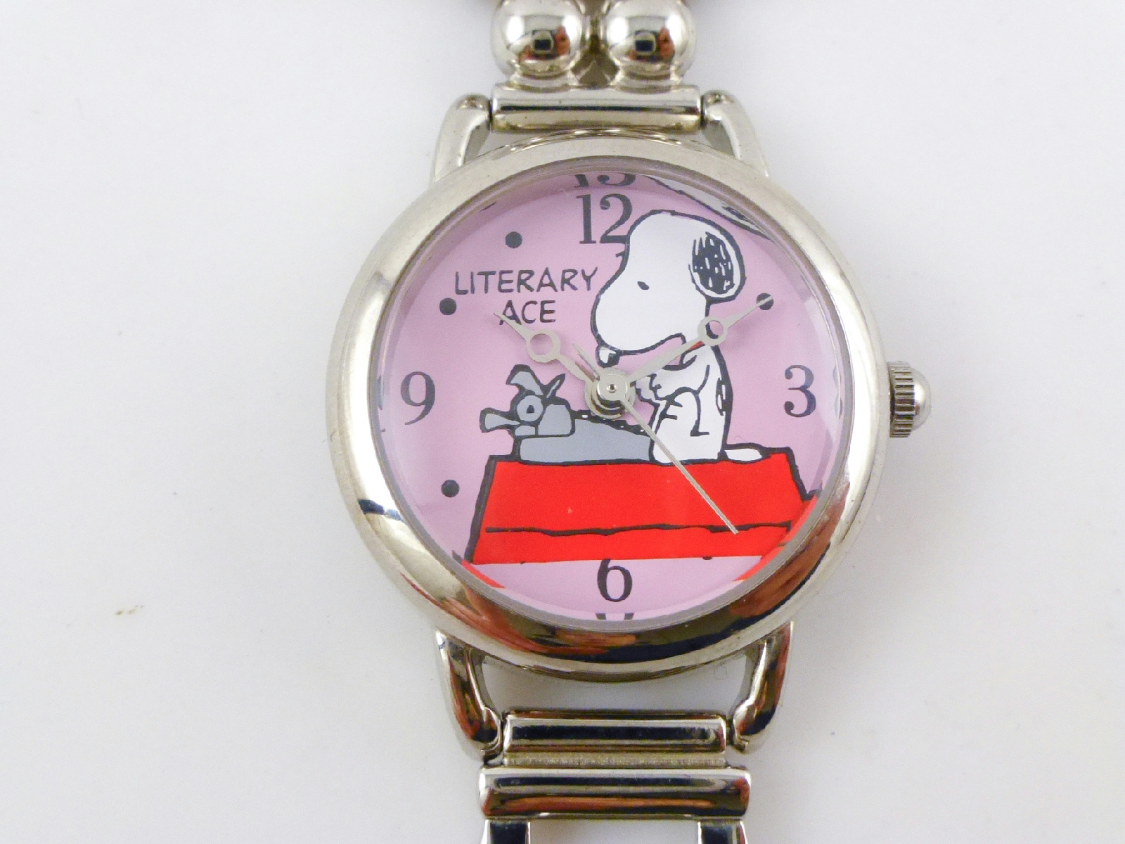 Peanuts charlie brown snoopy collectibles stainless steel multiple face watch ebay for Snoopy watches
