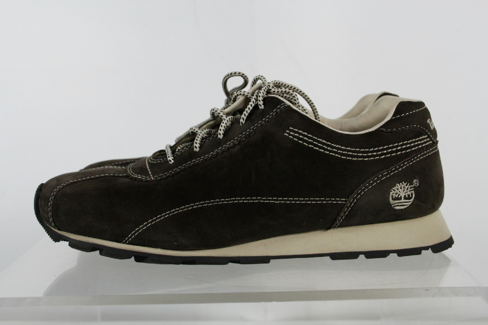 Timberland Black Suede Lace Up Athletic Sport Fashion Sneaker Shoes Sz 9 M | EBay
