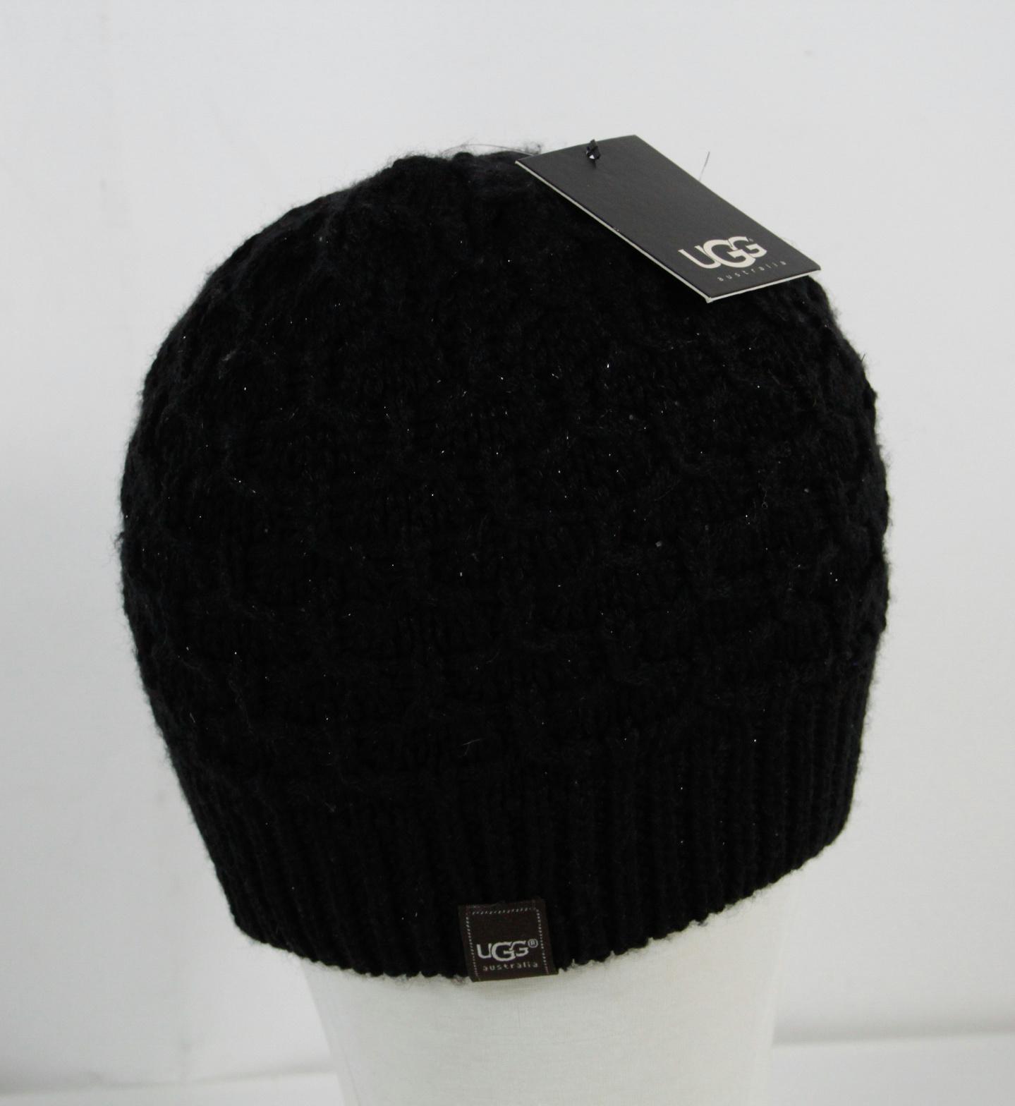 ugg black beanie hat