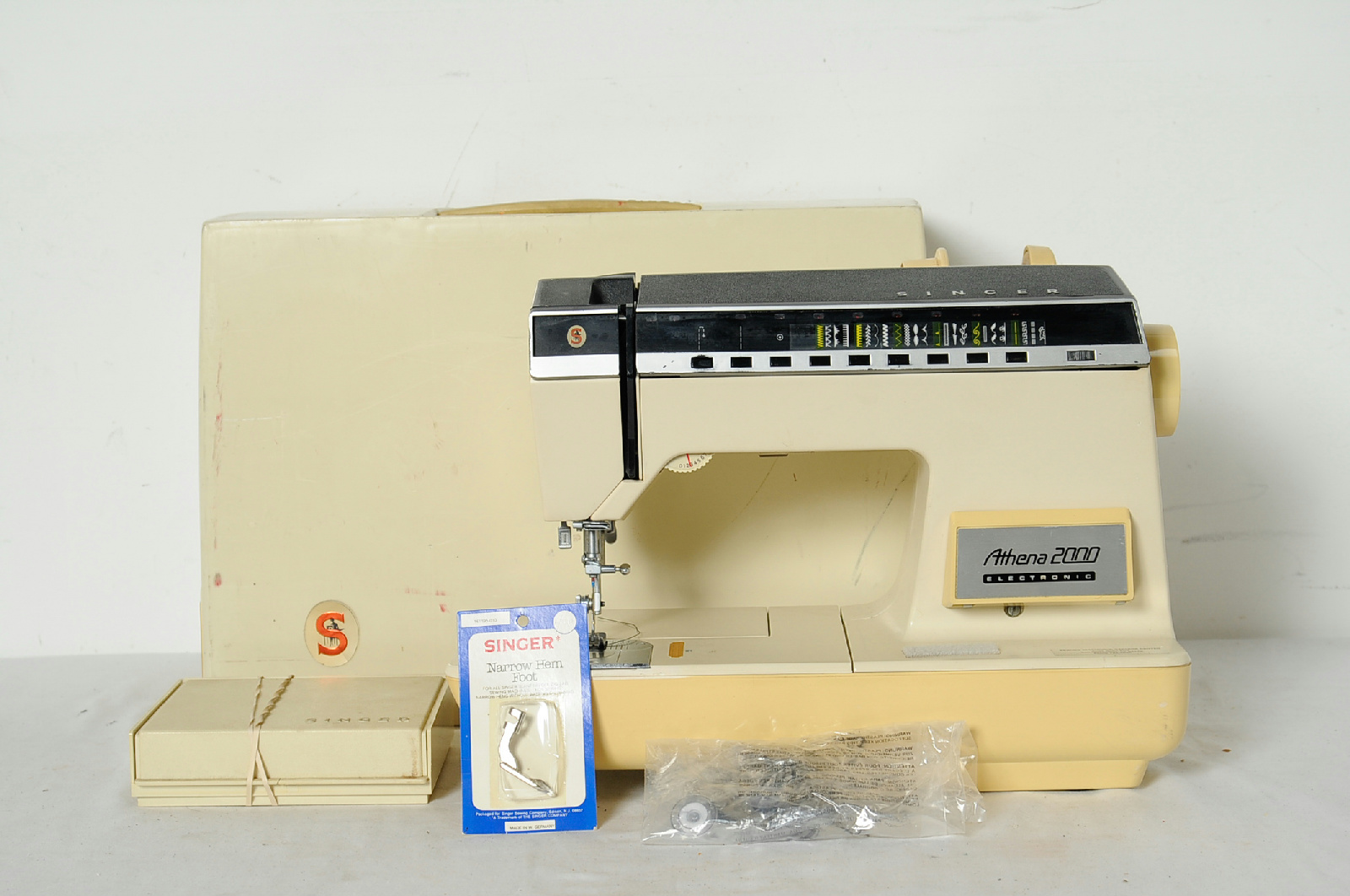singer foot pedal sewing machine value