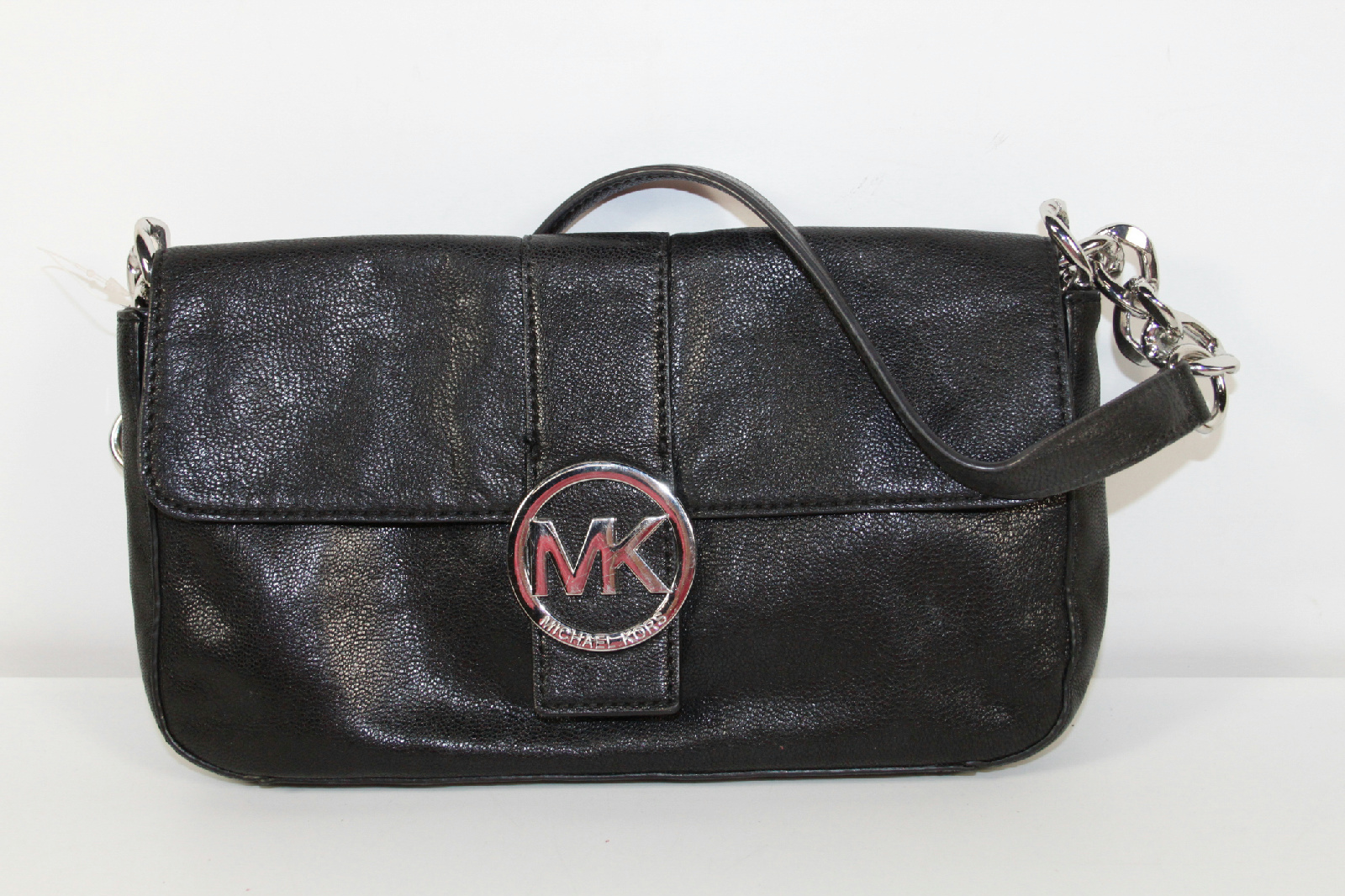 Michael Kors Black Chain Strap Shoulder Bag Purse