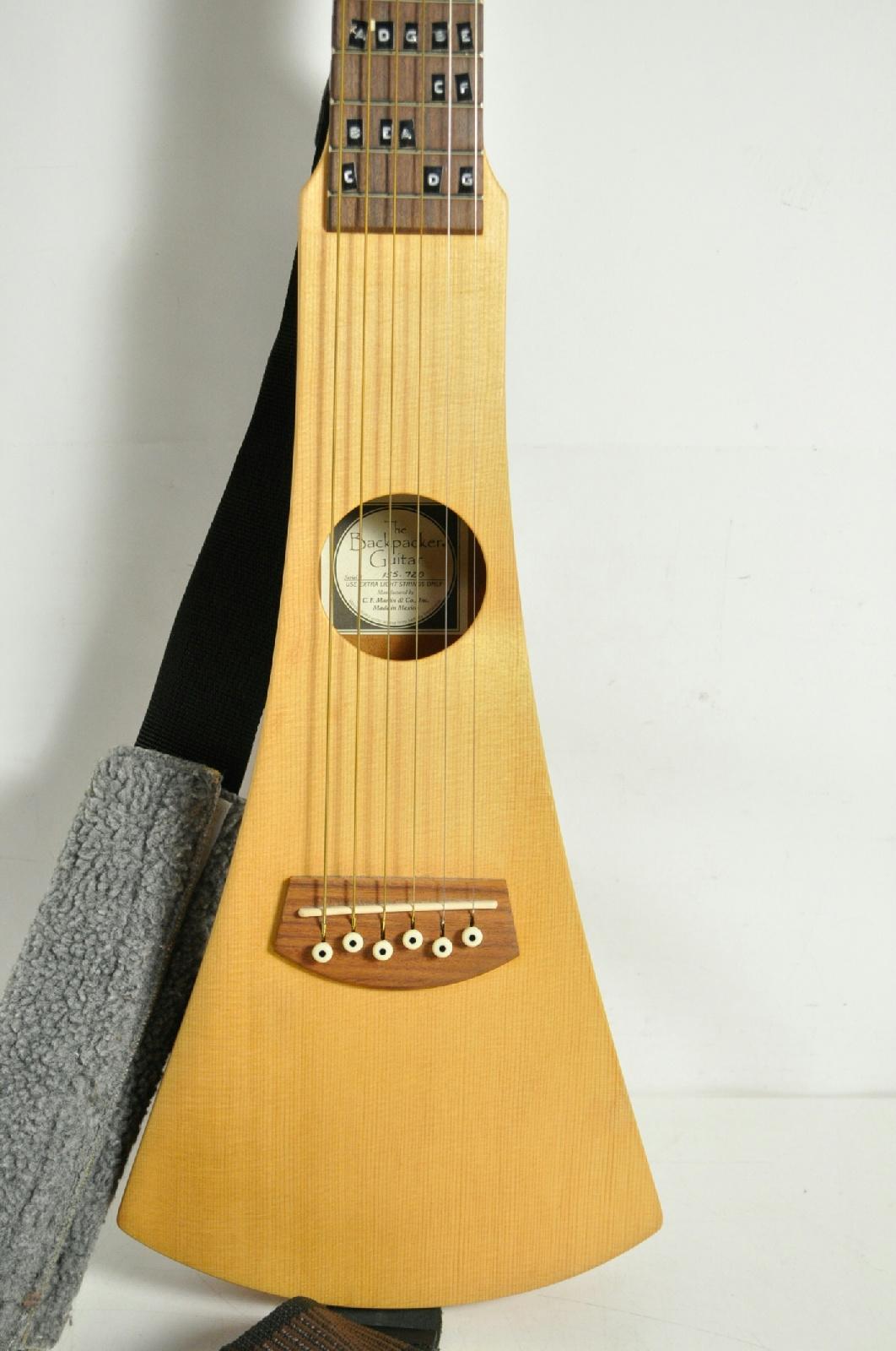 martin backpacker acoustic travel six string guitar ebay. Black Bedroom Furniture Sets. Home Design Ideas