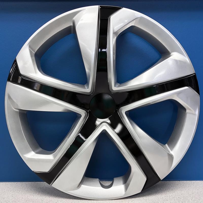 "Honda Civic Hubcaps >> Honda Civic LX Style 16"" Silver / Black Hubcaps Wheel Covers # 6550SB NEW SET 4 | eBay"