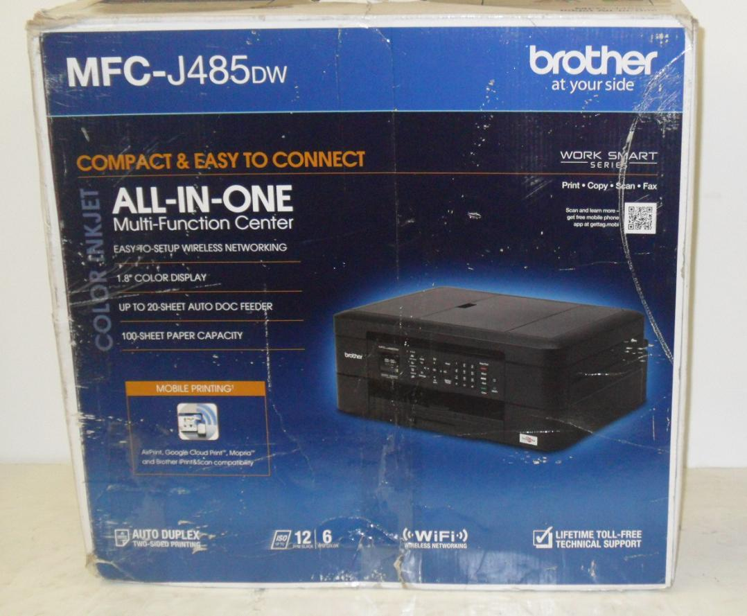 brother printer mfc j485dw manual