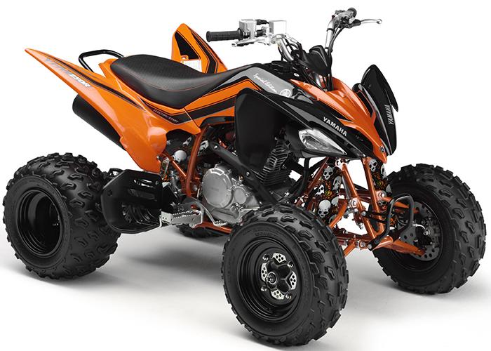 Orange Skull Shock Covers Yamaha Blaster Yfs Raptor Yfm