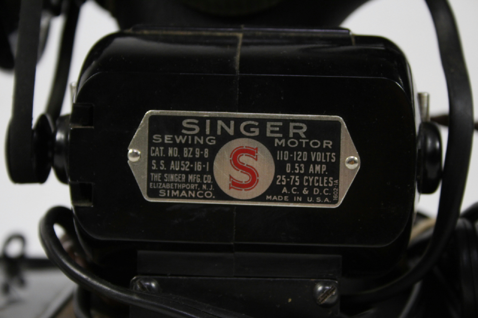 singer sewing machine 1950 value