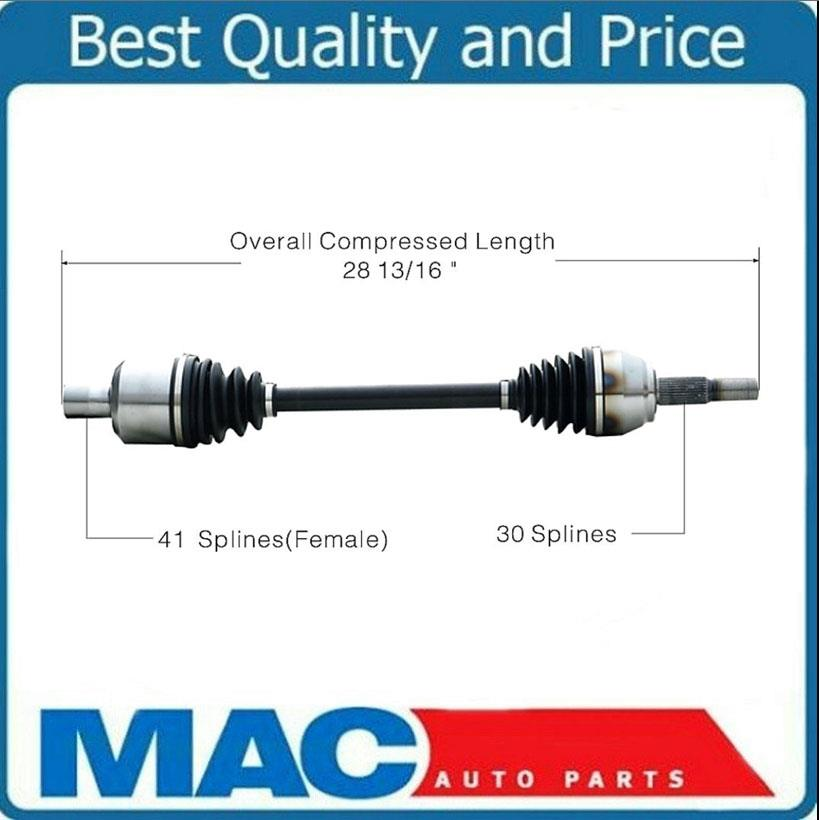 Left or Right Rear GSP NCV10999 CV Axle Shaft Assembly Driver or Passenger Side