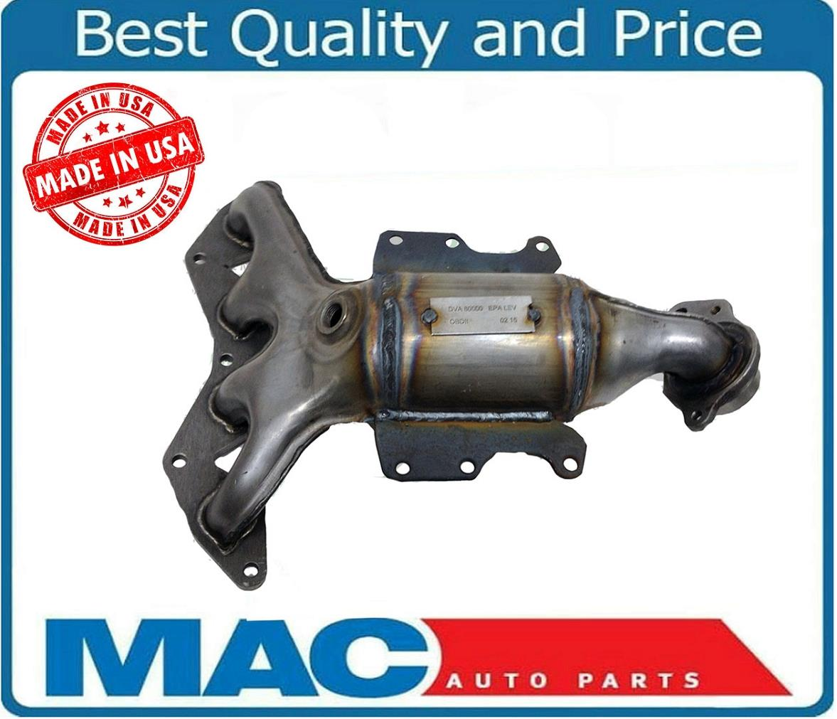 Manifold Catalytic Converter with Gasket for Honda Civic ...