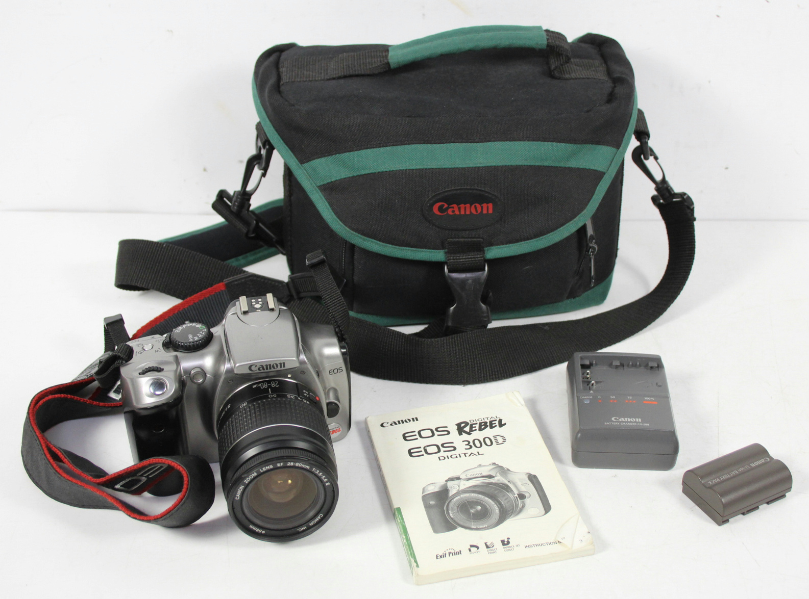Canon Eos 300d camera Manual
