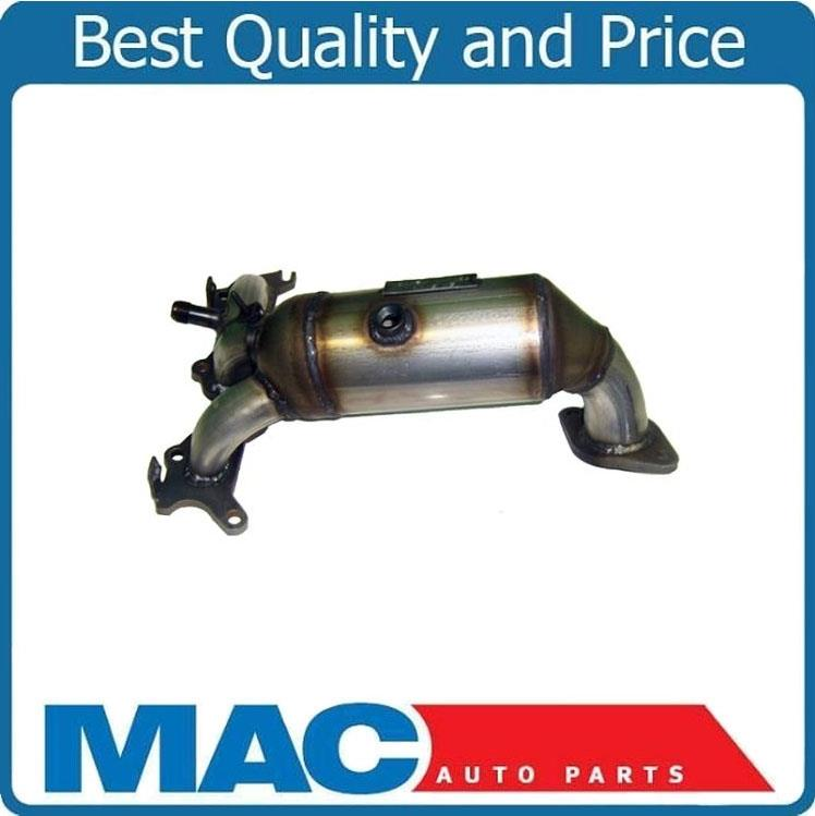 Rear Exhaust Manifold with Catalytic Converter /& Gasket for Dodge Chrysler New