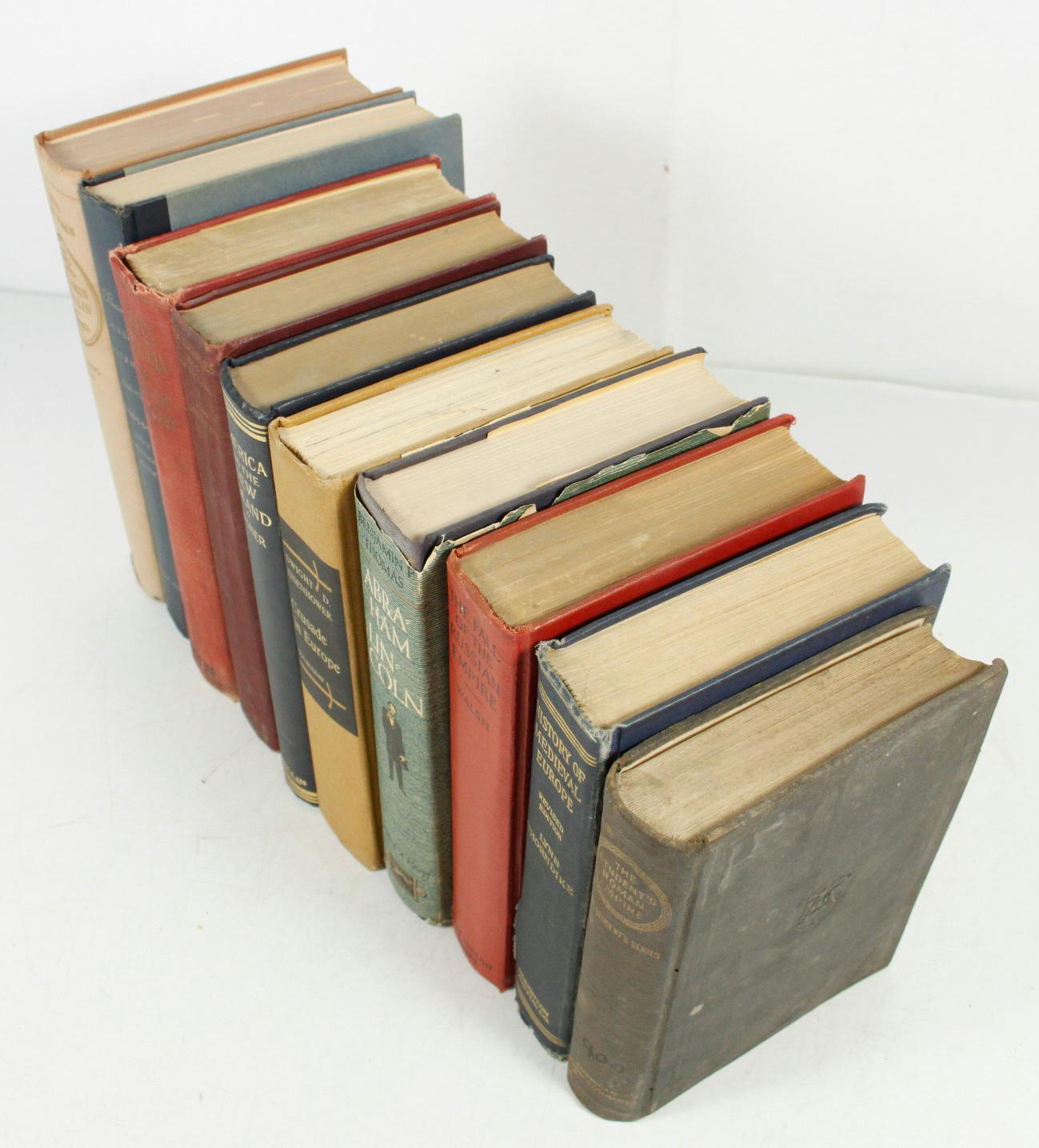 Vintage History Books 93