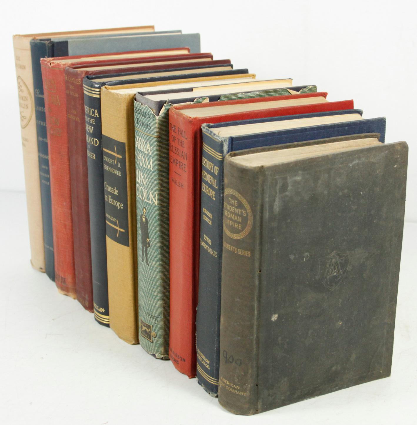 Vintage History Books 14