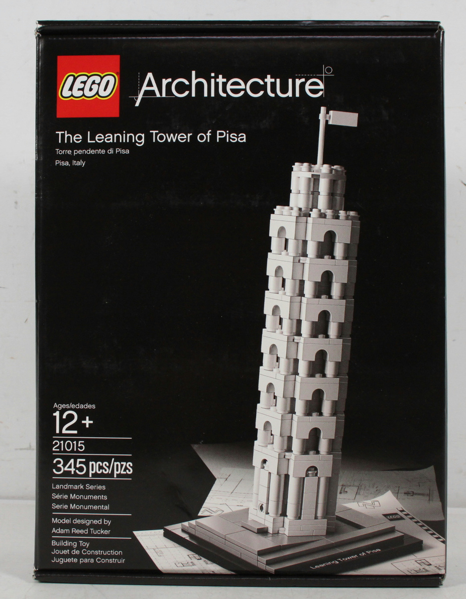 Lego Architecture The Leaning Tower Of Pisa 21015 Sealed ...
