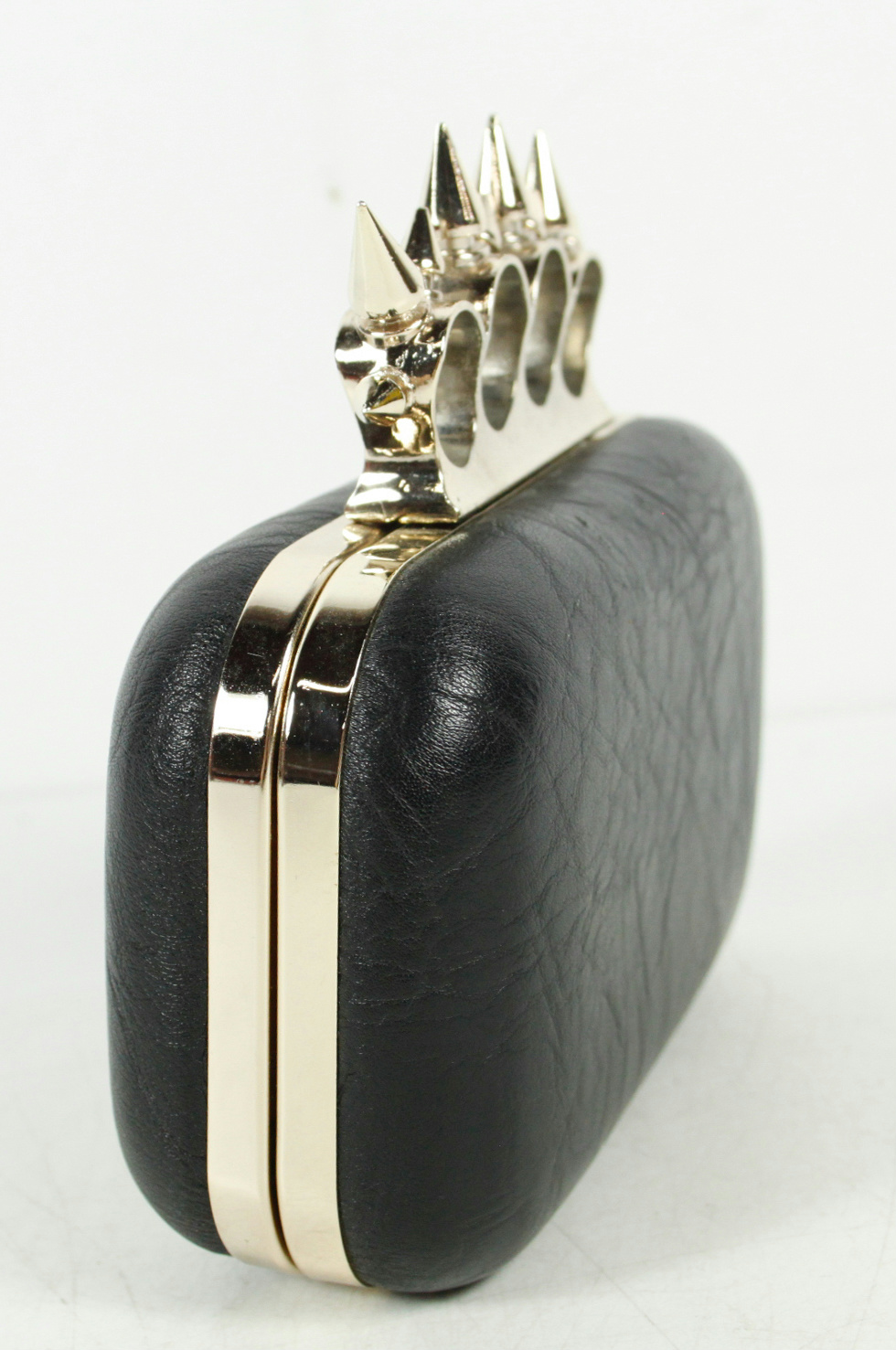 e37908d53399 Black Clutch Bag With Silver Chain Strap | Stanford Center for ...