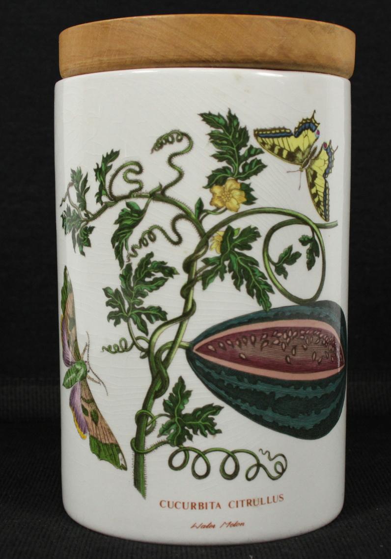 Portmeirion Botanic Garden Water Melon Storage Jar With