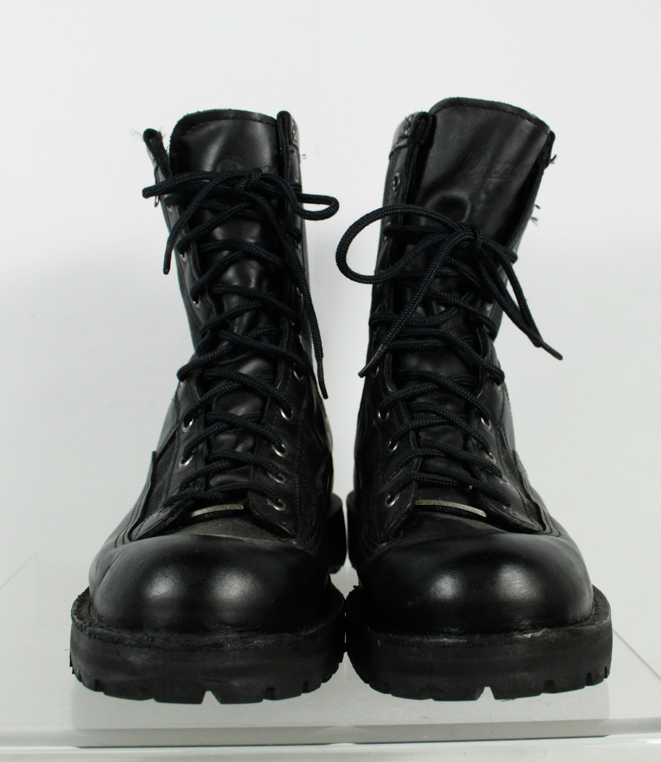 Danner Gore Tex Black Leather Waterproof Lace Up Military