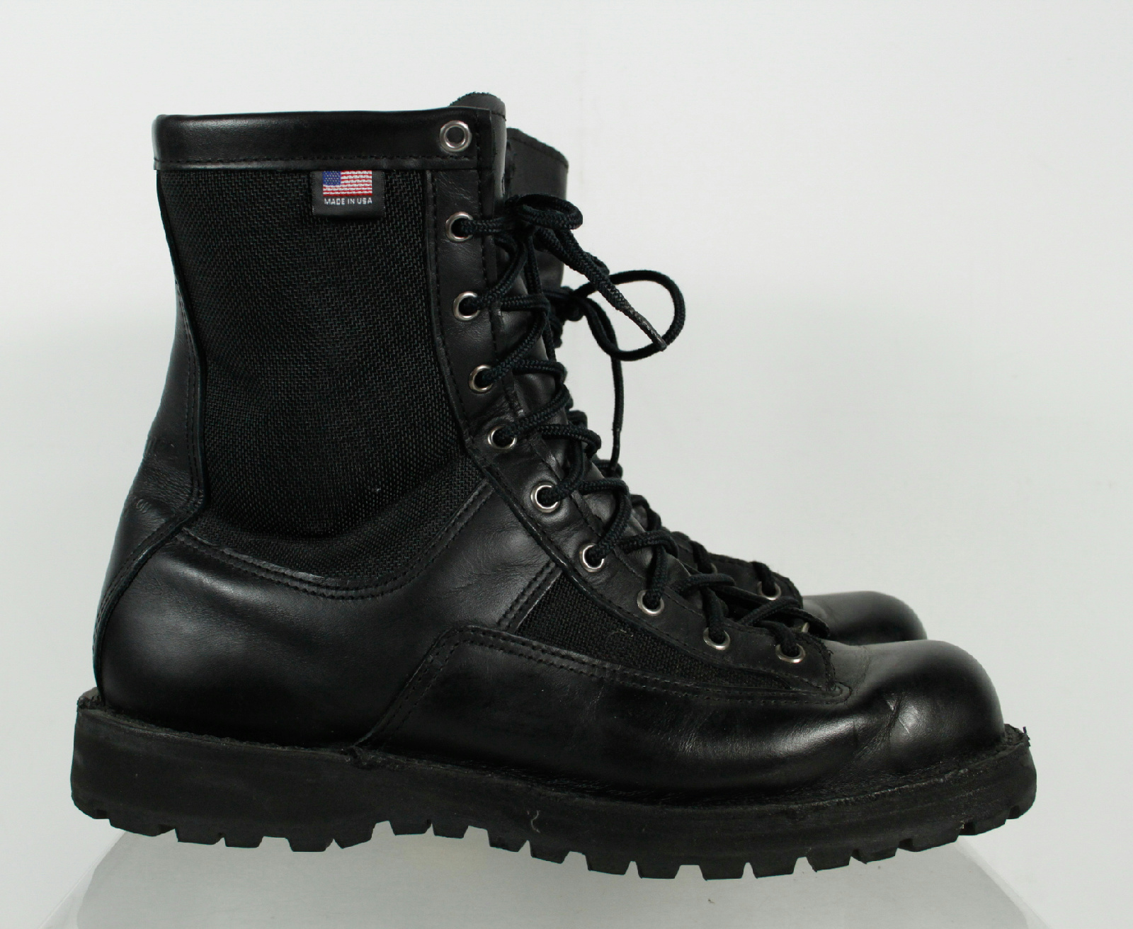 danner tex black leather waterproof lace up