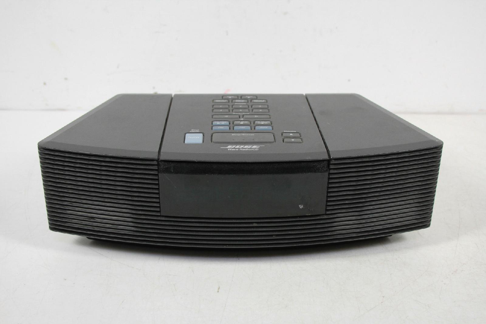 bose awrc 1g am fm wave radio cd player alarm clock ebay. Black Bedroom Furniture Sets. Home Design Ideas