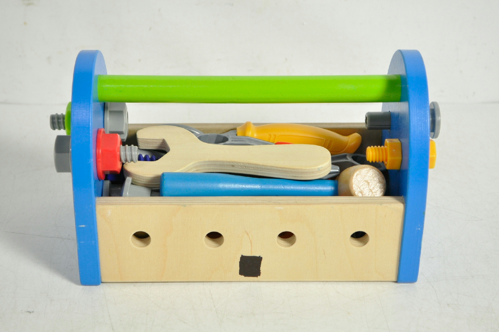 Plastic Toy Tools : Toy wooden tool box set for kids plastic and wood tools ebay