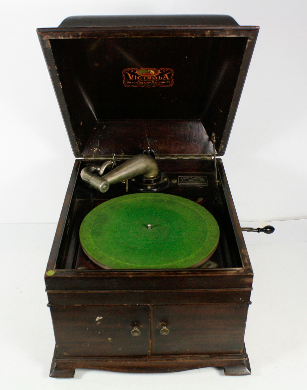 victor talking machine record value