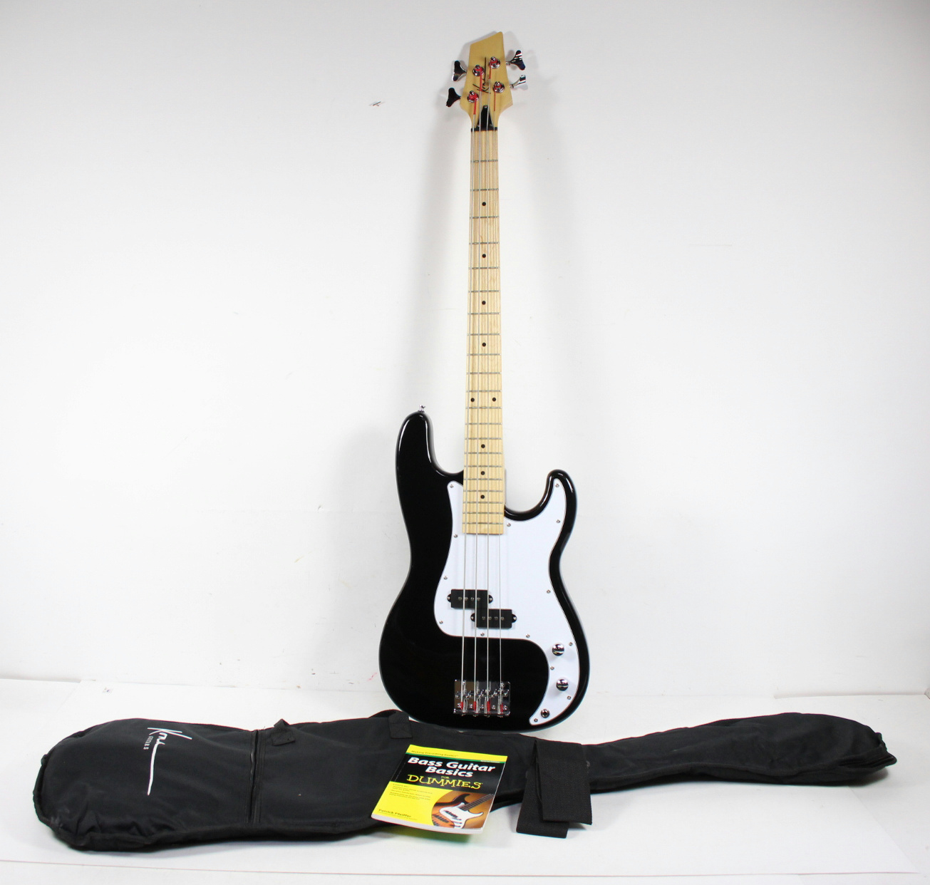 kona electric bass guitar carrying case bass guitar basics for dummies book ebay. Black Bedroom Furniture Sets. Home Design Ideas