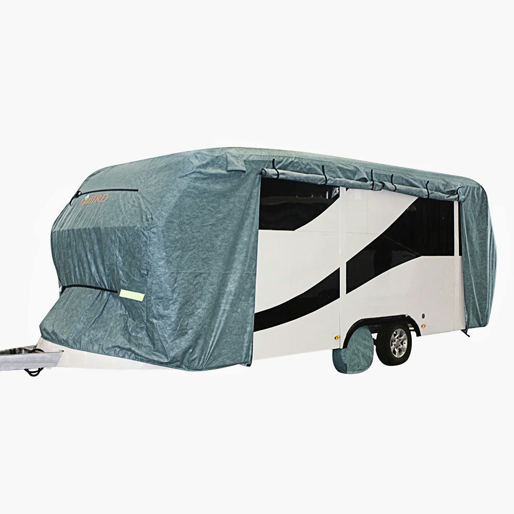 Travel Trailer Cartoon: Kingbird 22'-24' Extra-thick 4-Ply Camper Travel Trailer