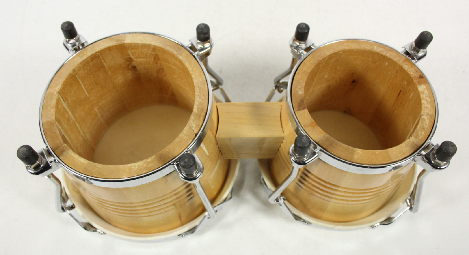 Gp purcession wood bongo drums ebay