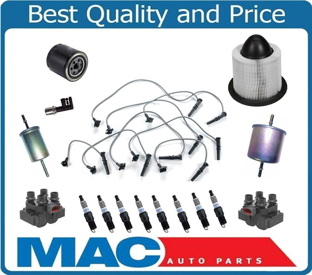 Spark Plugs Filters Ignition Wires & Coils For Ford Mustang GT 4.6L on wiring schematics for cars, electrical auto parts, brakes auto parts, honda auto parts, final drive auto parts, piston auto parts, air conditioning auto parts,