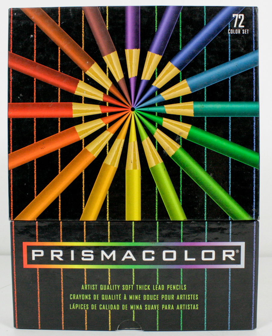 Prismacolor Artist Quality Soft Thick Lead Colored Pencils ...