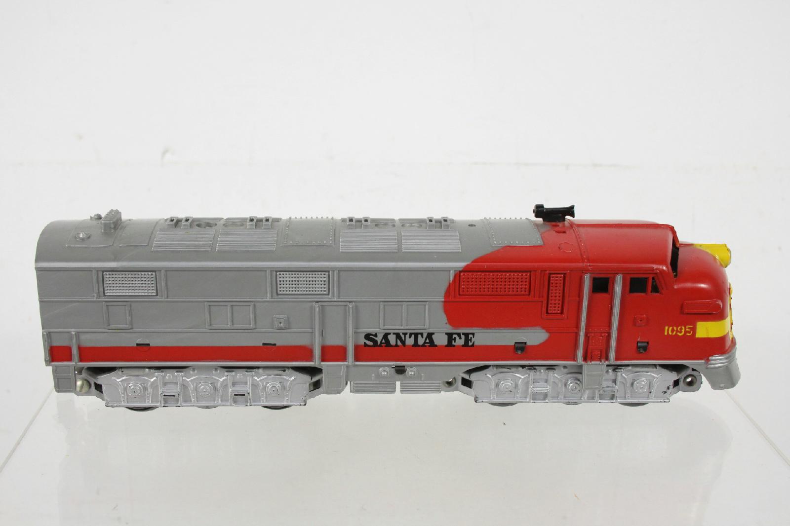 Marx 1950 S Santa Fe Electric Engine Train No 1095 Ebay