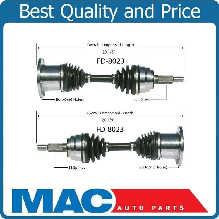2 100 New CV Axle Shaft For 97 02 Expedition 97 03 F150