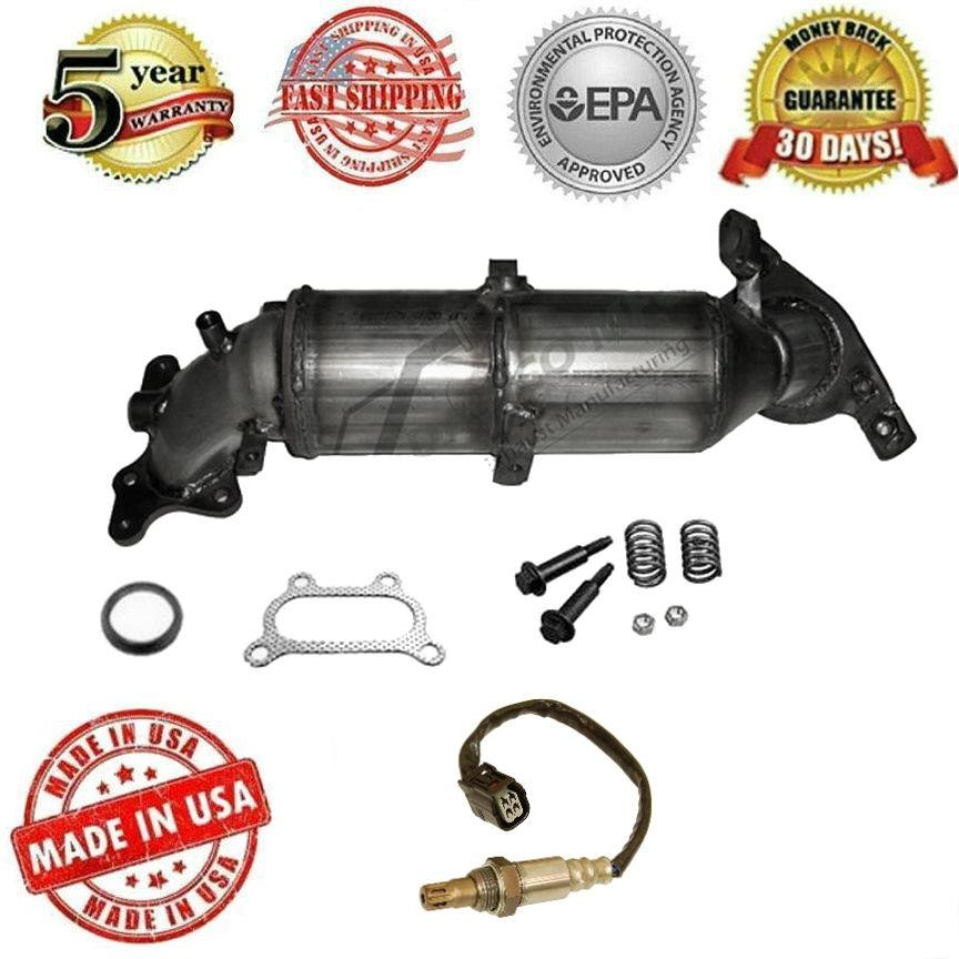 Catalytic Converter + Oxygen Sensor For 2006-2011 Honda