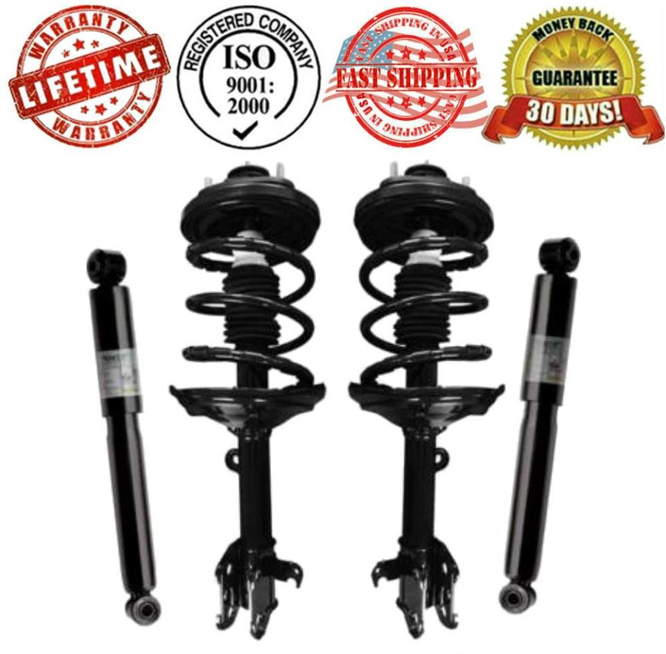 Front Complete Spring Struts And Rear Shocks For Acura MDX