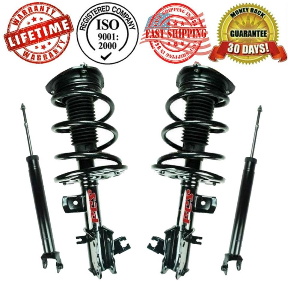 Front Complete Strut Amp Rear Shock Absorbers For Nissan Altima 2 5l 07 12 Ebay