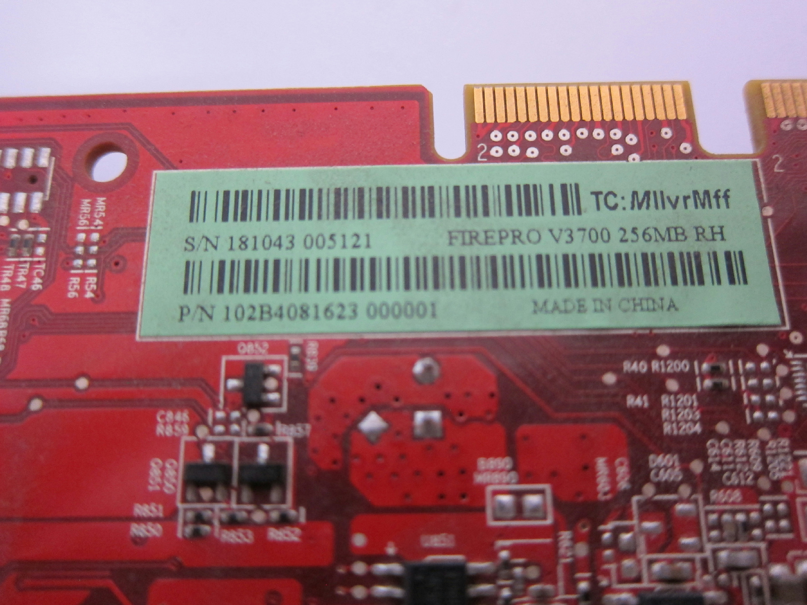HP ATI FirePro V3700 Graphics Video Card508279-001 519291-001