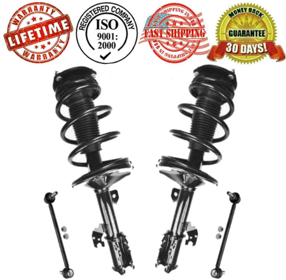Quick Complete Struts Assembly Shock Fit for 2004 05 06 Toyota Sienna Front Left
