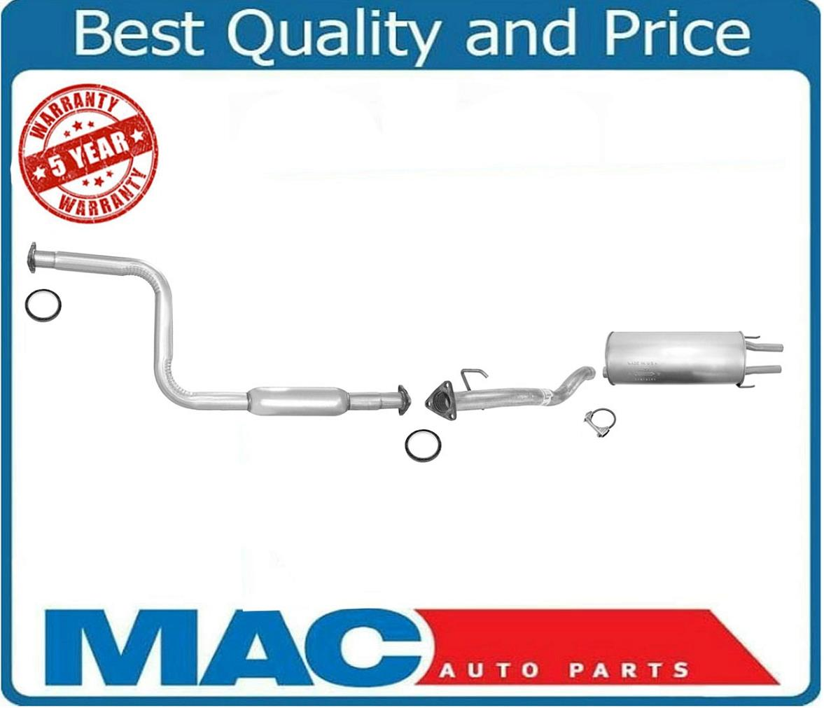 95-98 Acura TL 2.5L Muffler Exhaust System Tail Pipe