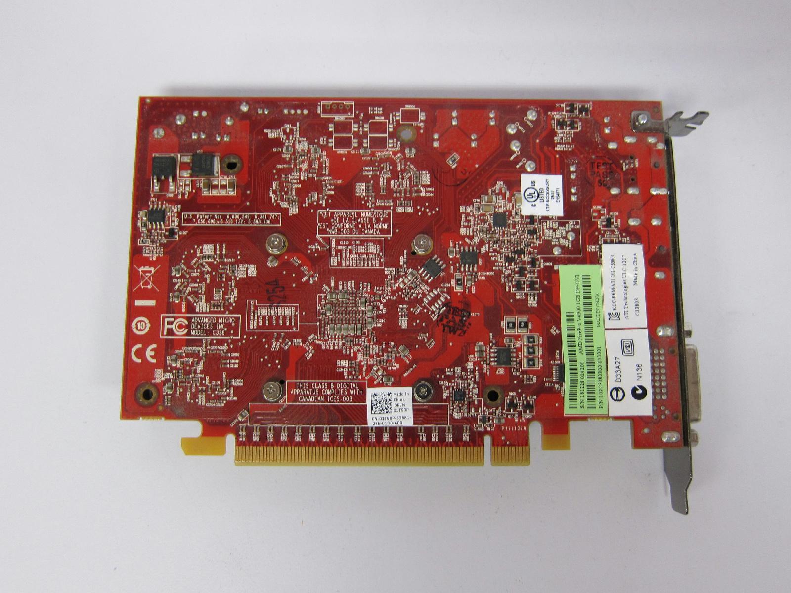 DVI 71219811H0G DP AMD Radeon HD8490 1GB Low Profile Video Card Display Port