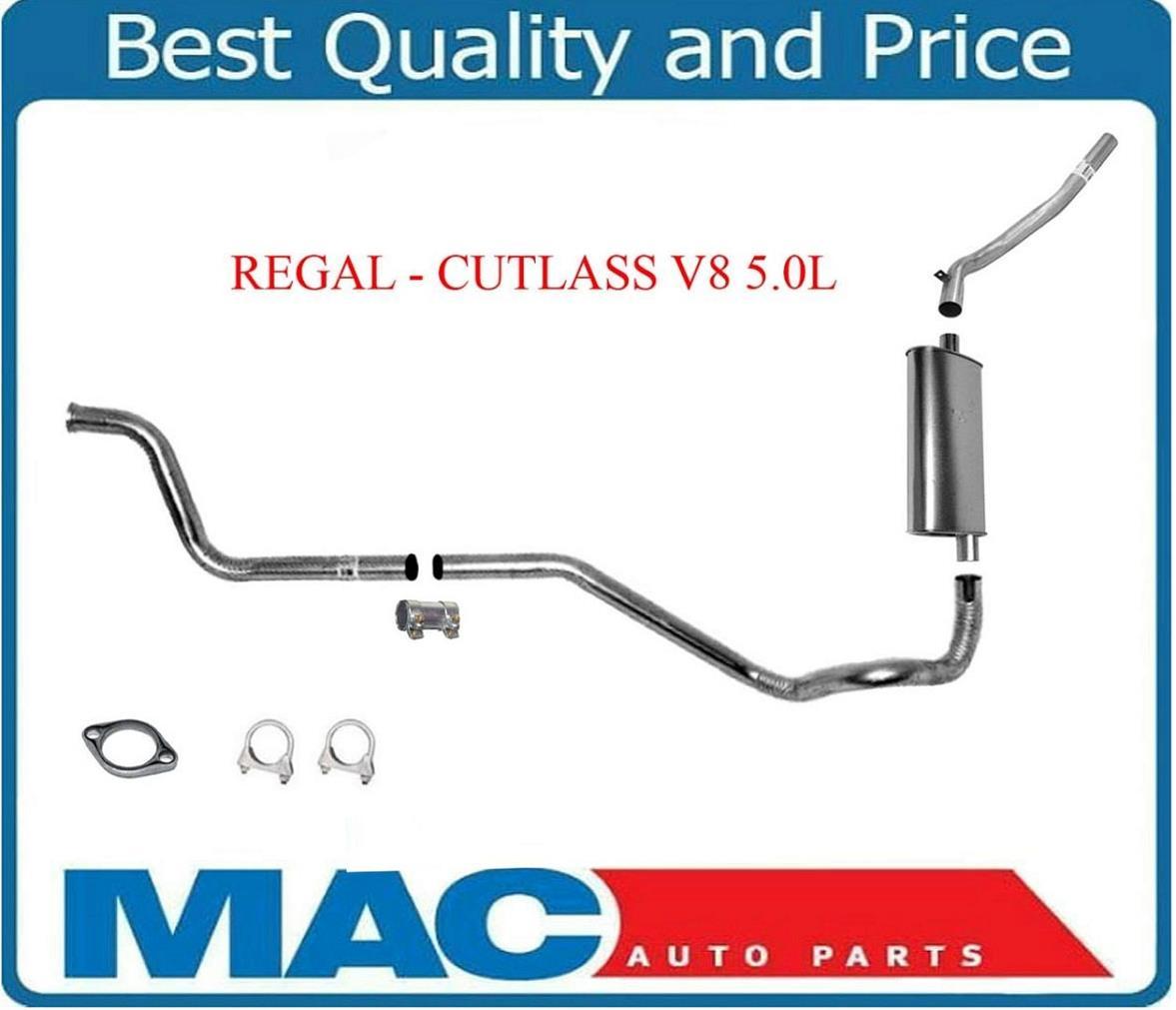 84-88 Regal Cutlass V8 5.0L  OEM Muffler Exhaust System