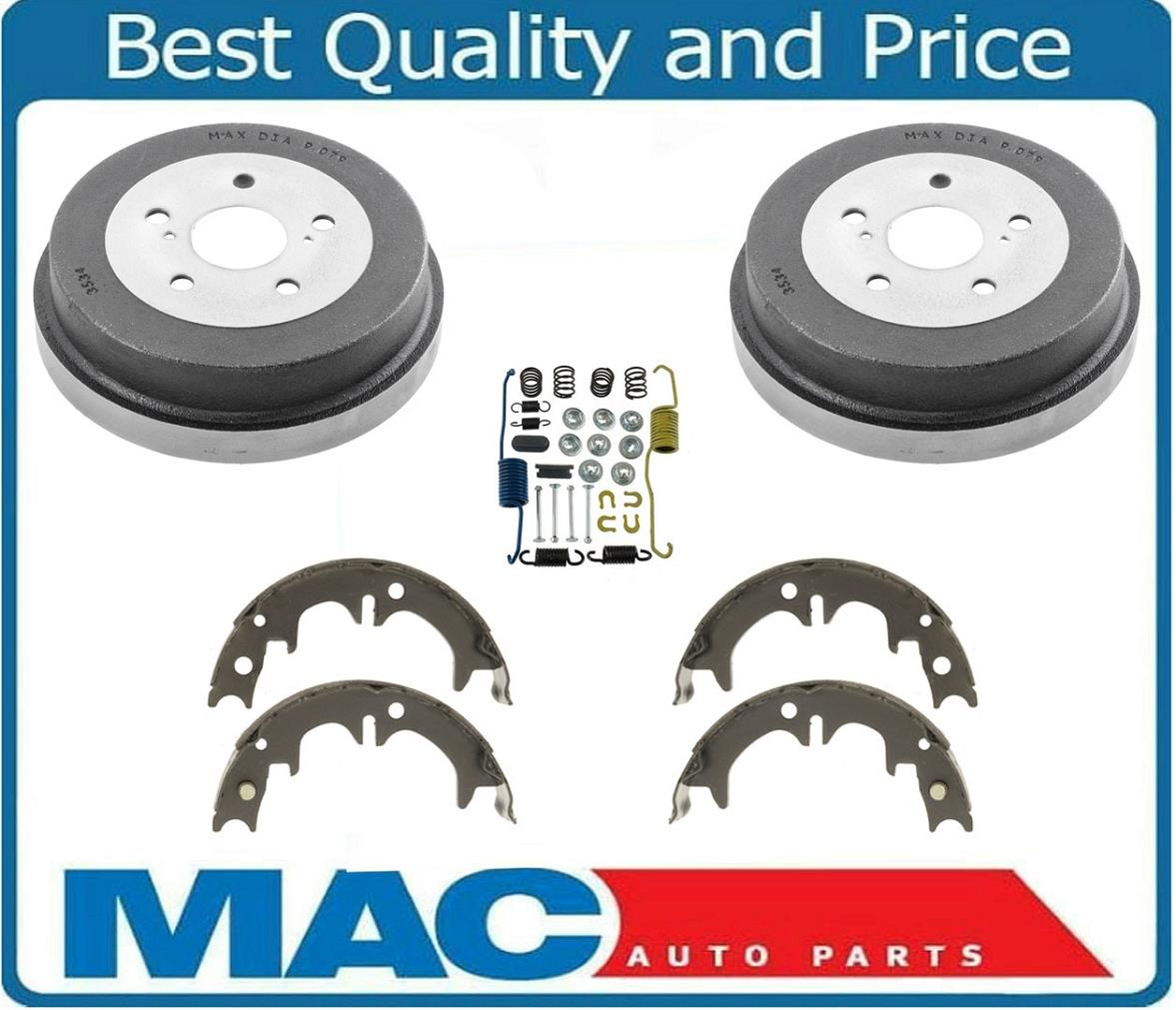 1999 Toyota Camry Brake Pads: 92-00 Toyota Camry All 01 To 05 USA Built 2 Rear Drums