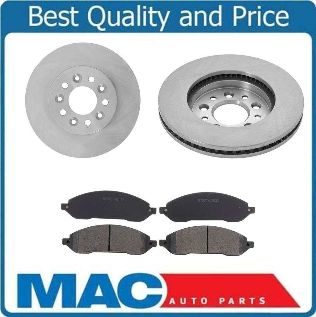 Front+Rear Rotors /& Ceramic Pads For 2004 2005 2006 2007 FORD FREESTAR MONTEREY