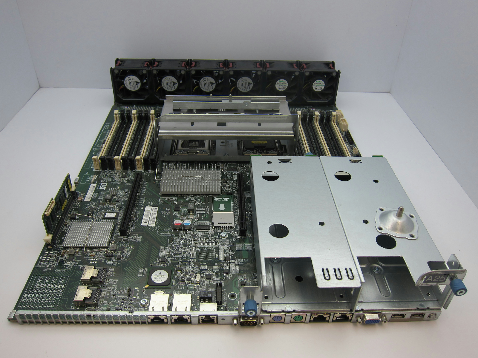 hp proliant dl380 g7 server motherboard 583918 001 599038 001 rev al w fans 708702280996 ebay. Black Bedroom Furniture Sets. Home Design Ideas
