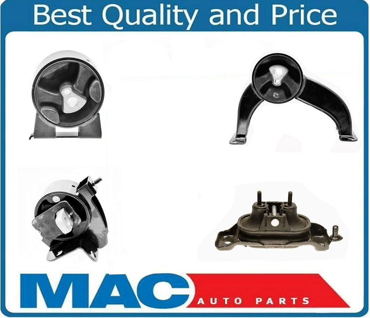 9M1141 4pc Motor Mounts fit Dodge Caravan 2008-2010 3.3L 3.8L 4.0L Engine AUTO